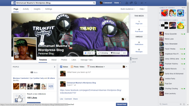 My Fb Page